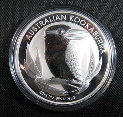 2012 Silver Australian Kookaburra 1 oz. Perth Mint Proof-Like Gorgeous Sealed
