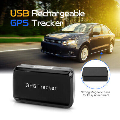 Mini Portable USB Rechargeable Magnetic Vehicle GPS Tracker Wireless B2Q3