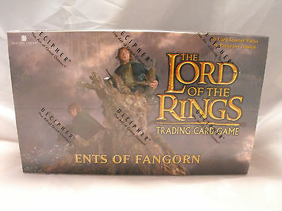 Lord Of The Rings Tcg Ents Of Fangorn Complete Sealed Booster Box Of 36 Packs