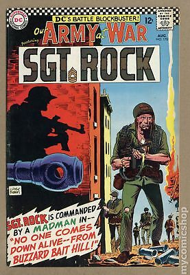 Our Army at War #170 1966 VG/FN 5.0