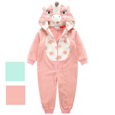 Unicorn Girls Onesy Assorted Colours and Sizes