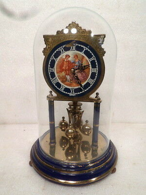 Kieninger & Obergfell Very Unusual 400 Day Clock With Dome