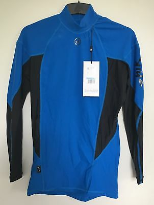 Zhik Mens Long Sleeve Tops in cyan Gr: M