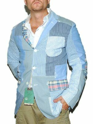 Polo By Ralph Lauren Sports Coat Blazer Jacket Size 42 Made In Italy