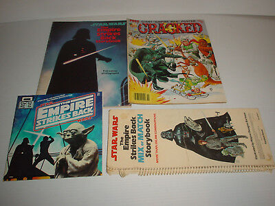 Vintage Star Wars : The Empire Strikes Back * Four Books Incl Mix Or Match 1980