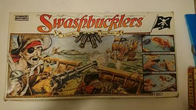 Swashbucklers Pirate Board game 1986 Parker Brothers