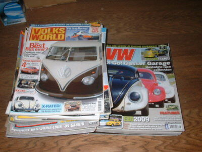 30++ Ultimate Vw Volks World Vw Gulf Monthly Magazines Early 2000's Good Cond