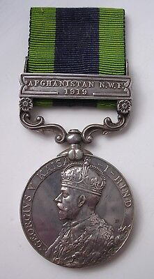India General Service medal Afghanistan Mentioned in Despatches 66th Punjabis