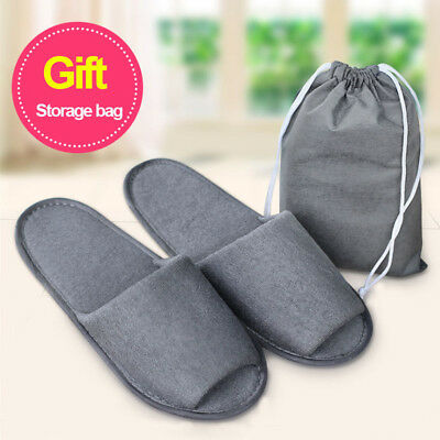 New Home Decor Hotel Breathable Slippers SPA Slippers Air Travel Salon 36-43