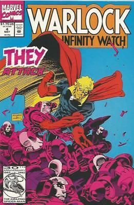 WARLOCK AND THE INFINITY WATCH (1992) #4 - Back Issue (S)