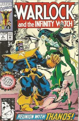 WARLOCK AND THE INFINITY WATCH (1992) #8 - Back Issue (S)