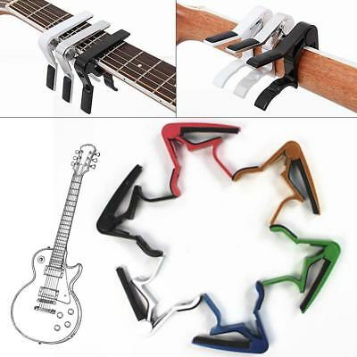 7 Color Quick Change Tune Clamp Key Trigger Capo For Acoustic Electric Guitar MT
