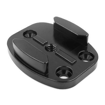Aluminium Flat Surface Mount Buckle 1/4 Adapter or Permanent Fix for GoPro 4 5 6