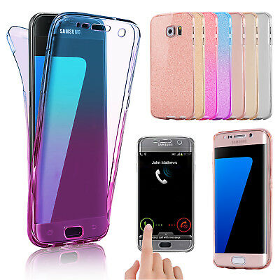 For Samsung Galaxy S7 S8 Plus S9 Luxury Ultra Slim Shockproof Bumper Case Cover