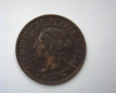 Canada 1901 Large Cent  Nearly Uncirculated