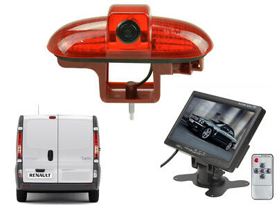 Reversing Camera Kit and Dash Monitor Suitable For Vauxhall Vivaro 2001 - 2014