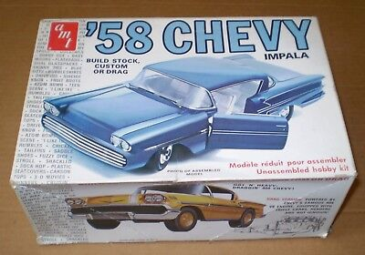 Amt Vintage Chevrolet 1958 Kustom Model Kit 1/25