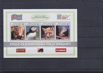 064309 Vögel Birds ... British Indian Ocean Territory Block 13 ** MNH Year 2000