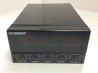 Omega DP41-U-A High Performance Panel Meter 115-230VAC 6-Digit Display 4-Outputs