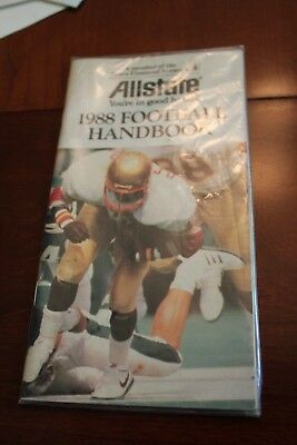 1988 Allstate Football Handbook