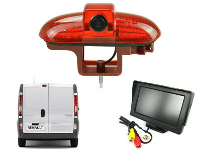 Reversing Camera Kit and Dash Monitor Suitable For Renault Trafic 2001 - 2014