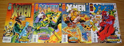 Astonishing X-Men #1-4 VF/NM complete series - age of apocalypse - joe madureira