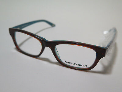 a283607575c WOMENS DESIGNER EYEGLASS Frames James   Parker Black Sparkle 52-16 ...