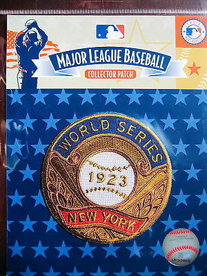 MLB New York Yankees 1923 World Series Champions Patch