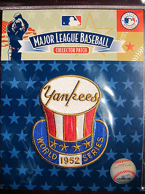 MLB New York Yankees 1952 World Series Champions Patch