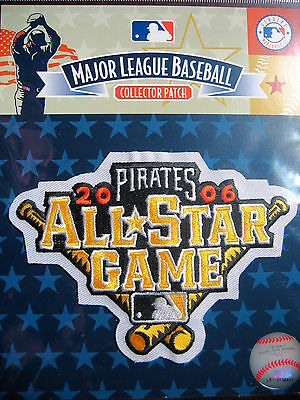 MLB Official 2006 All Star Game Patch Pittsburgh Pirates
