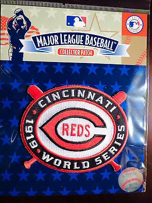 MLB Official Authentic Cincinnati Reds1919 World Series Champions Patch