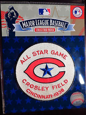 MLB Official Authentic 1938 All Star Game Patch Cincinnati Reds