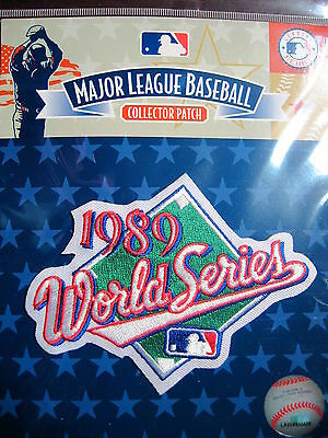 MLB Official 1989 World Series Patch Athletics Giants