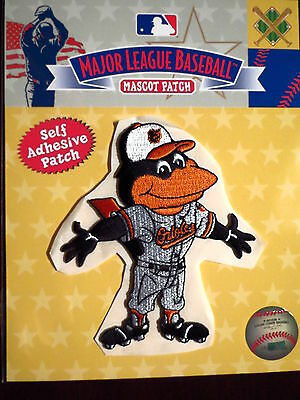 MLB Baltimore Orioles Bird Mascot Patch - Sticky Backing 2013