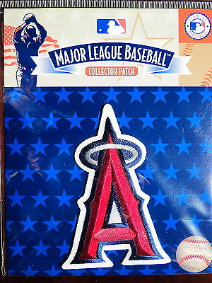 MLB Official Los Angeles Angels Primary Emblem Patch A with Silver Halo 2005