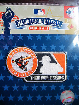 MLB Baltimore Orioles 3rd World Series Appearance 1970