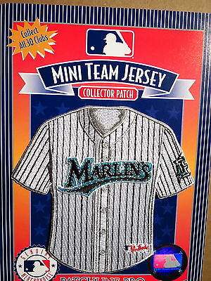 MLB Miami Marlins Home Mini-Jersey 4 Inch Patch From 2006