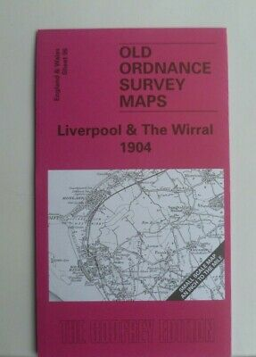 OLD ORDNANCE SURVEY MAPS LIVERPOOL & THE WIRRAL  PLAN WIRRAL COLLIERY 1904 new