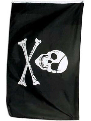 New 3x5 Jolly Roger Pirate Flag Caribbean Pirates Flags