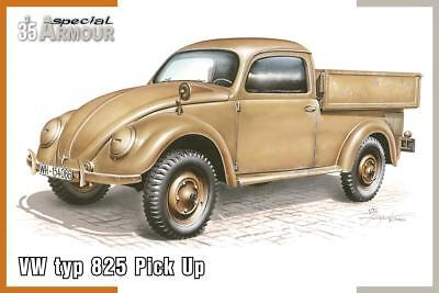 SPECIAL ARMOUR 35007 VW Typ 825 Pick Up in 1:35
