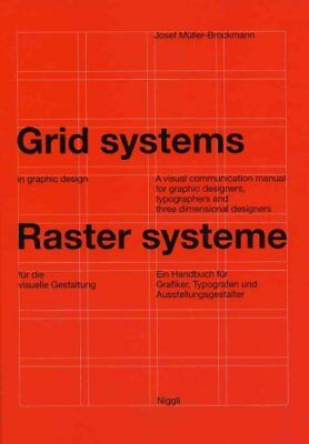 "Grid Systems in Graphic Design ""A Visual Communication Manual f... 9783721201451"