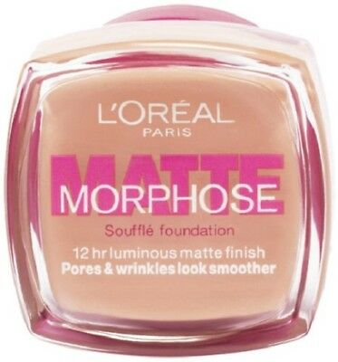L'oreal Matte Morphose Souffle Foundation - 310 Amber 12hr Luminous Matte Finish