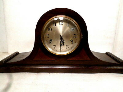 1920's Seth Thomas Signed Mantle Clock With Quarter Westminister Chimes