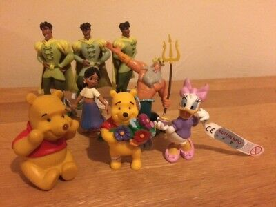 Lot of 8 x DISNEY CHARACTER Figures including Bullyland