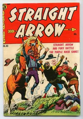 Straight Arrow #33 (Fred Meagher) Golden Age-ME Comics VG/FN    {Randy's Comics}