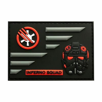 Inferno Squad Star Wars Battlefront USA Flag Patch (3D-PVC Rubber-MINF2)