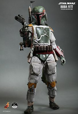 STAR WARS - Boba Fett 1/4th Scale Action Figure QS003 (Hot Toys) #NEW