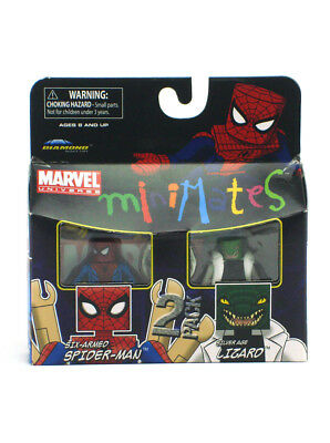 Marvel Minimates Six-Armed Spider-Man & Silver Age Lizard Series Wave 37 New
