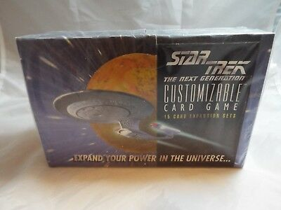 Star Trek Ccg 1994 Premiere Alpha, Sealed Box Of 36 Boosters