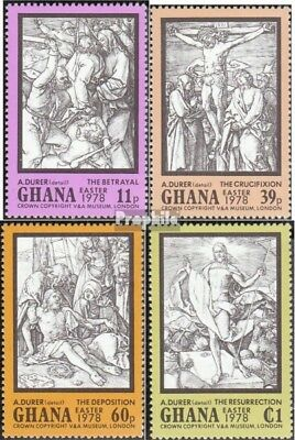 Ghana 767A-770A (complete.issue.) unmounted mint / never hinged 1978 Easter